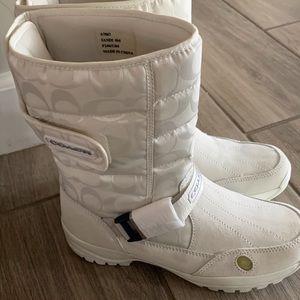 Coach vintage Sandi boots - new